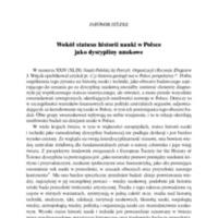 Wokół statusu historii nauki w Polsce jako dyscypliny naukowej_Nauka Polska 2016.pdf